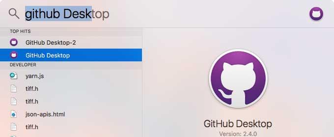 Abra el escritorio de GitHub