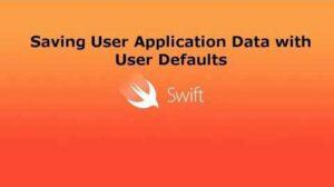 Cómo guardar y cargar estructuras desde valores predeterminados de usuario en Swift