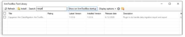 Complemento Capgemini en XrmToolBox