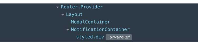 Depurar componentes con nombre con React Dev Tools