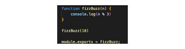 La función recibirá 10 como variable y luego la consola registrará el resultado.