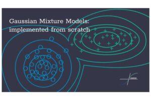 Modelos de mezcla gaussianos: implementados desde cero