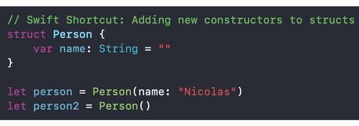 Podemos tener dos inicializadores proporcionados por el compilador