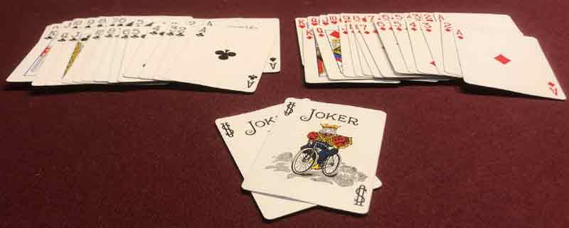 Puede agrupar las tarjetas en grupos por color