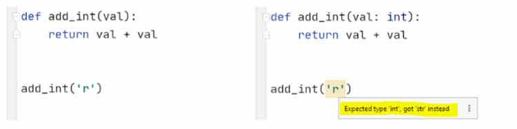 Sin-sugerencias-de-tipo-(izquierda),-Python-3.9-con-sugerencias-de-tipo-(derecha).
