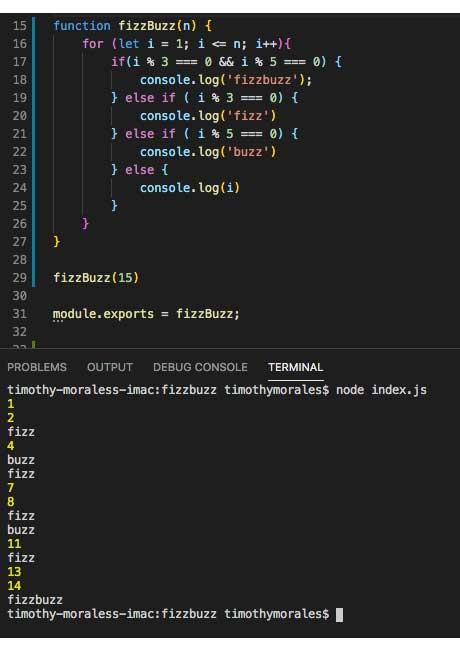 Terminando el código