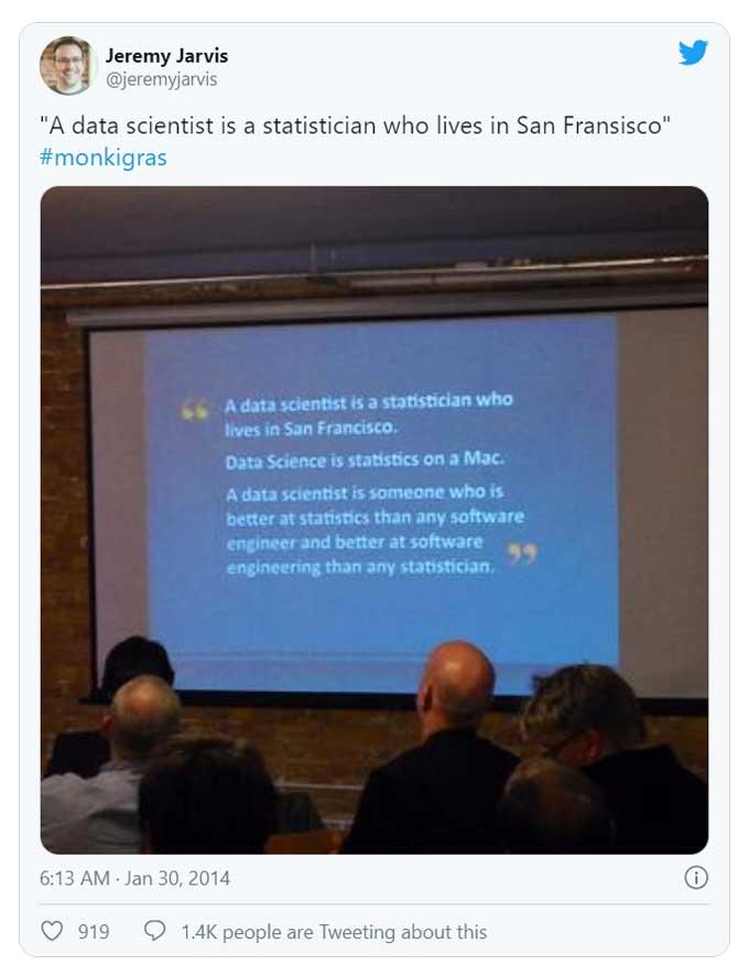 Un tweet viral sobre los conceptos erróneos de la ciencia de datos