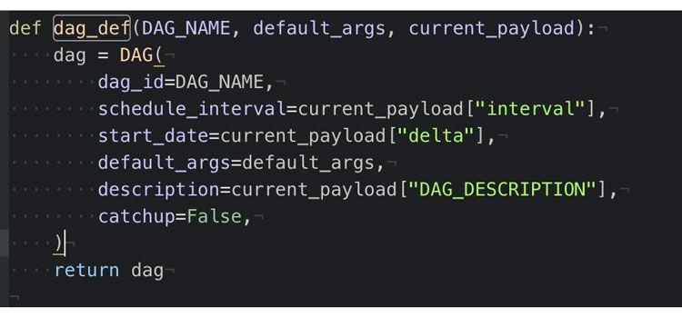 función de referencia DAG