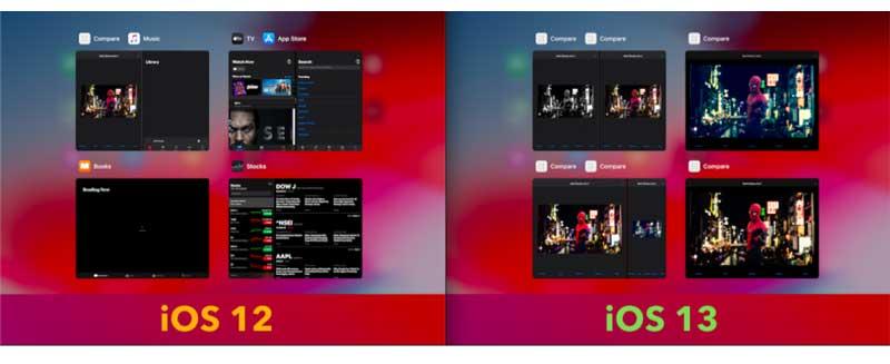 iOS 13 permite mostrar múltiples ventanas (escenas) de una aplicación